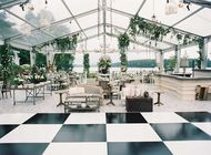 Aluminum Structure Clear Tent Wedding Reception With Waterproof Pvc Cover For Outdoor