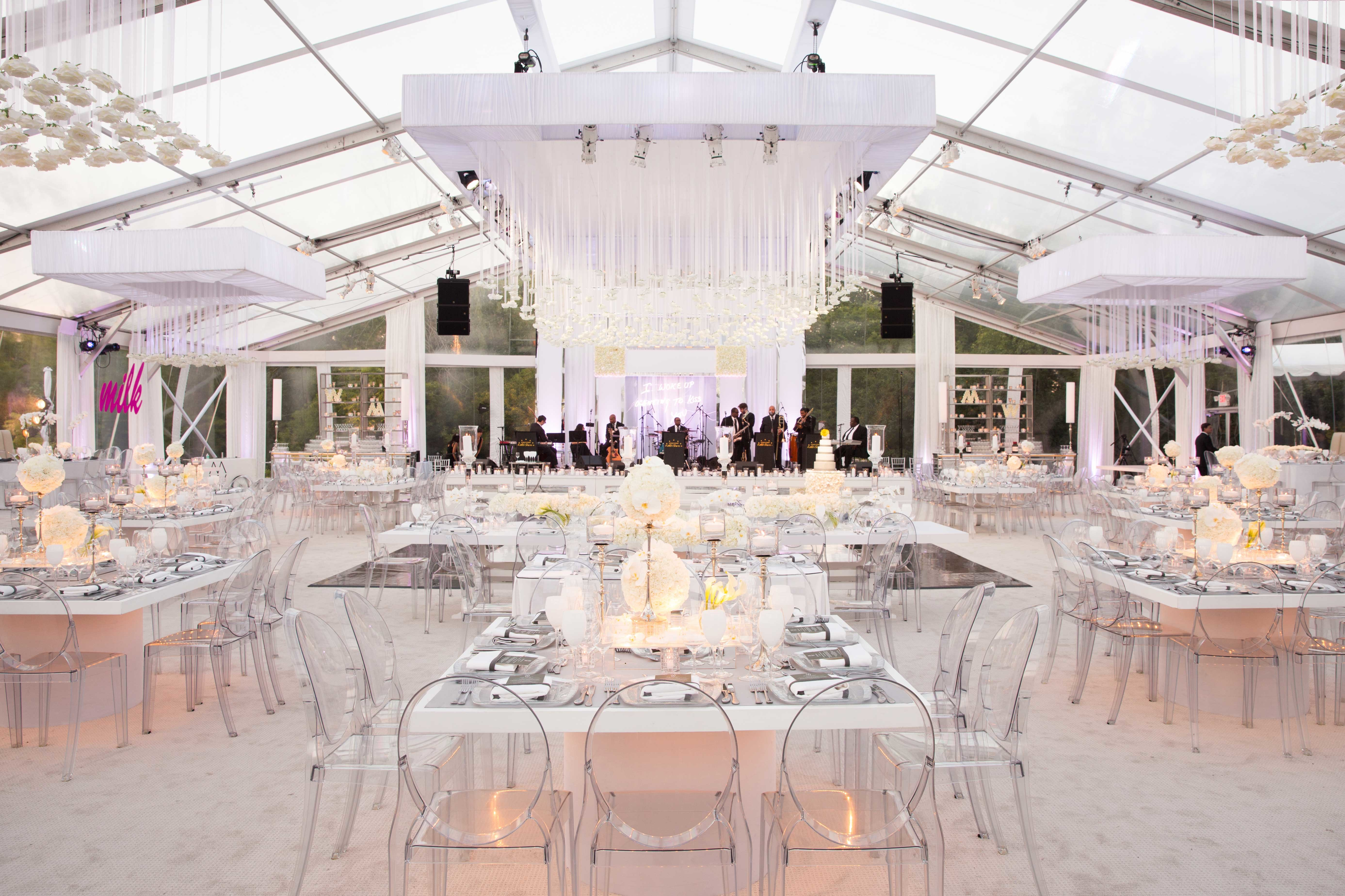 Transparent PVC Wedding Event Tents , Large Event Tents For Wedding Ceremony
