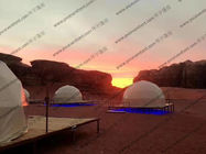 Half Sphere Large Geodesic Dome Tent As Hotels atau For Camping Event